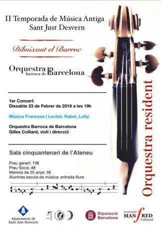 II Temporada de Música Antiga Sant Just Desvern