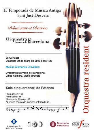 II Temporada de Música Antiga Sant Just Desvern (2n concert)