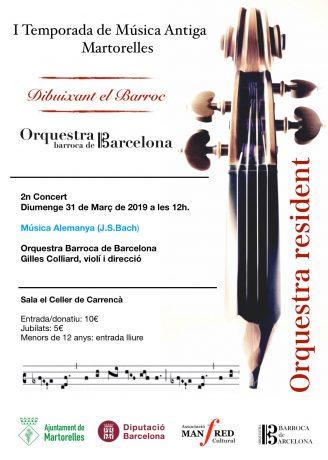 I Temporada de Música Antiga Martorelles (2n concert)