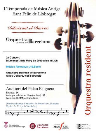 I Temporada de Música Antiga San Feliu de Llobregat (2n concert)